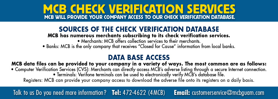 Check Verification Service Image